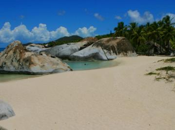 Spring Bay Beach  - Virgin Gorda BVI