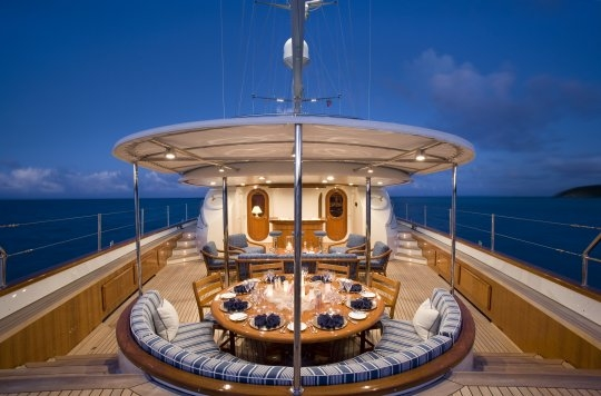 Luxury Crewed Charter Sailing Yacht ANTARA
