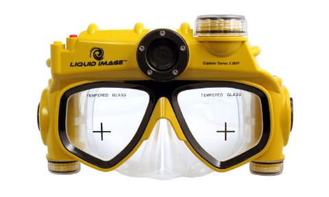Underwater Video Camera Mask