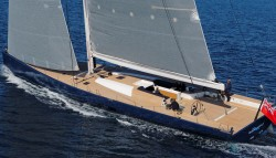 The Wally Cento Sailing Yacht