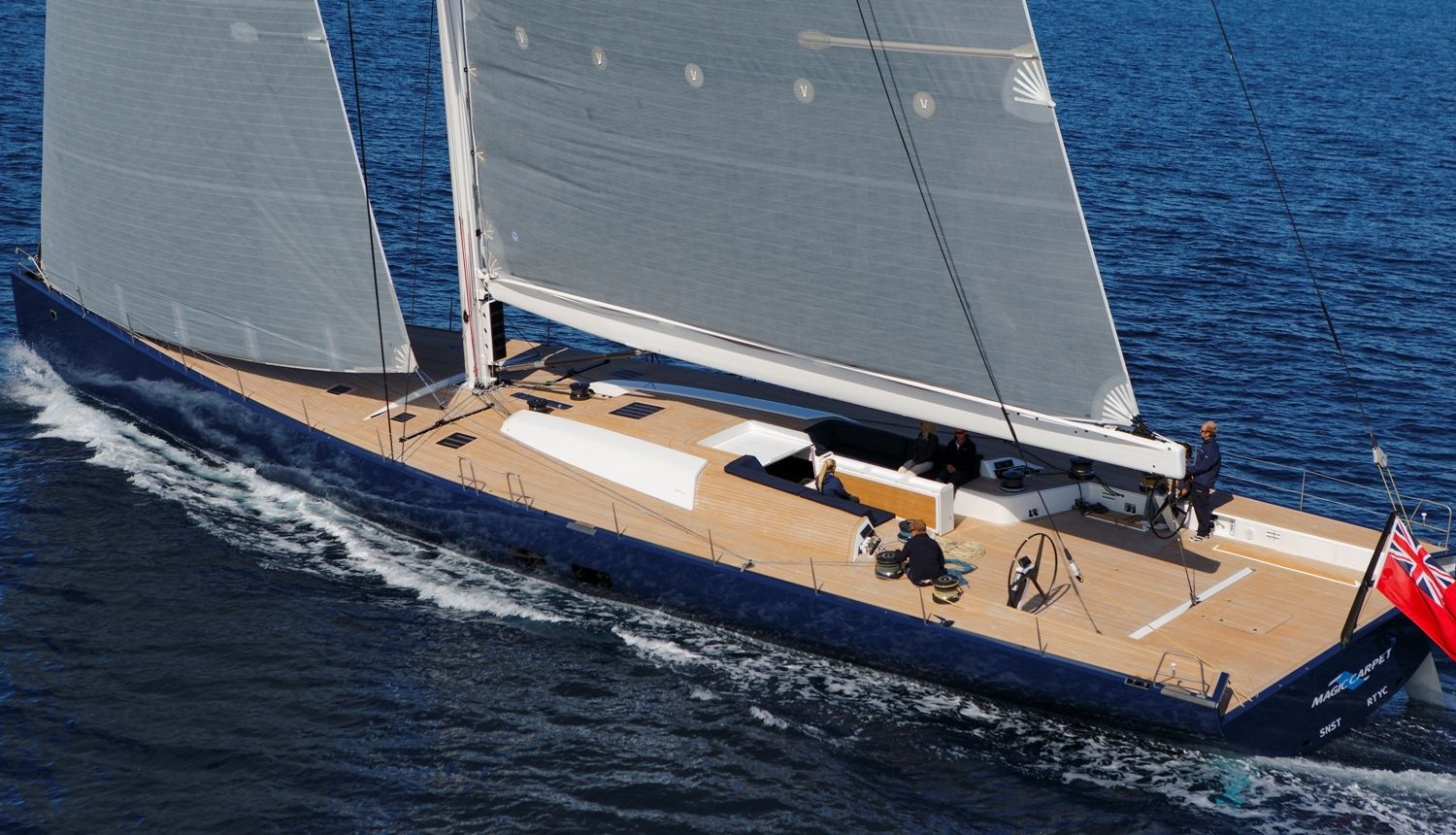 The Wally Cento Sailing Yacht Excess Caribbean