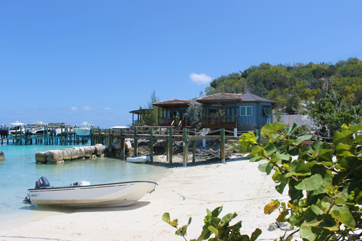 Dilly Gum Waterfront Bungalow - Staniel Cay, Exumas, Bahamas