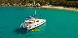 46′ Leopard Catamaran Yacht Charter - Staniel Cay, Exumas, Bahamas