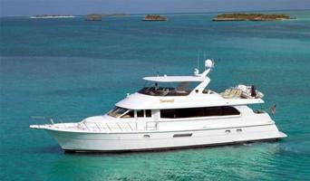 75′ Hatteras Motor Yacht - Staniel Cay, Exumas, Bahamas