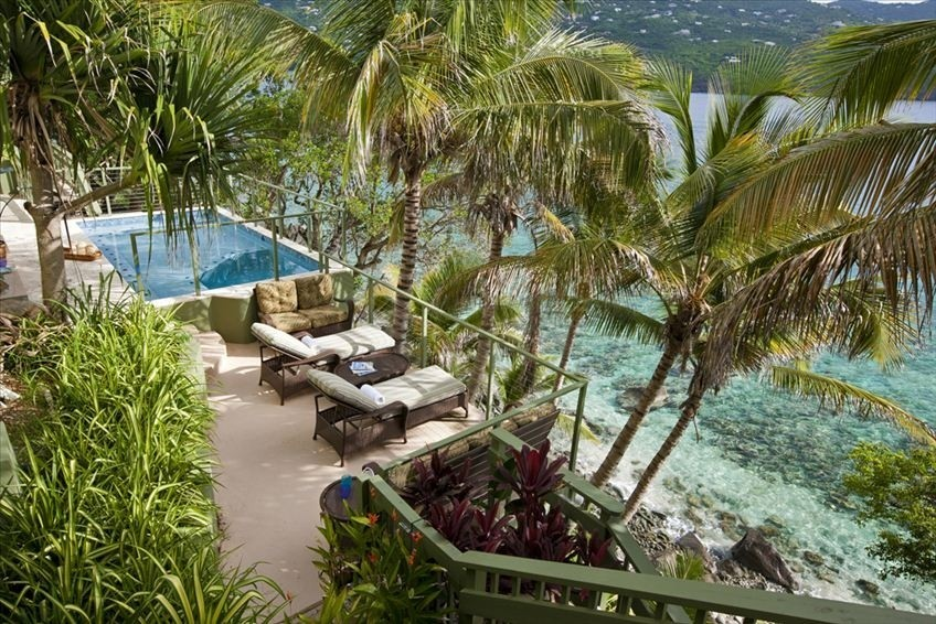 Coral Gardens Beach Estate Rental - St. Thomas