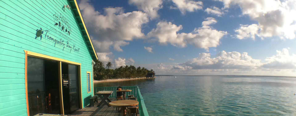 Aquarium Restaurant At Tranquility Bay Resort - Belize