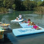 Start The Pool Party On The Margaritaville Aqua Plank Float