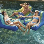 Oasis Pool Lounger Pool Float