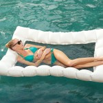 Relax In The Blue With A Water Hammock