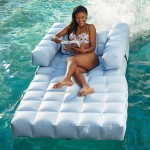 Splash Around In Paradise With An Inflatable Arm Chair