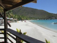 Quito's Gazebo Beach Bar - Cane Garden Bay, Tortola, BVI