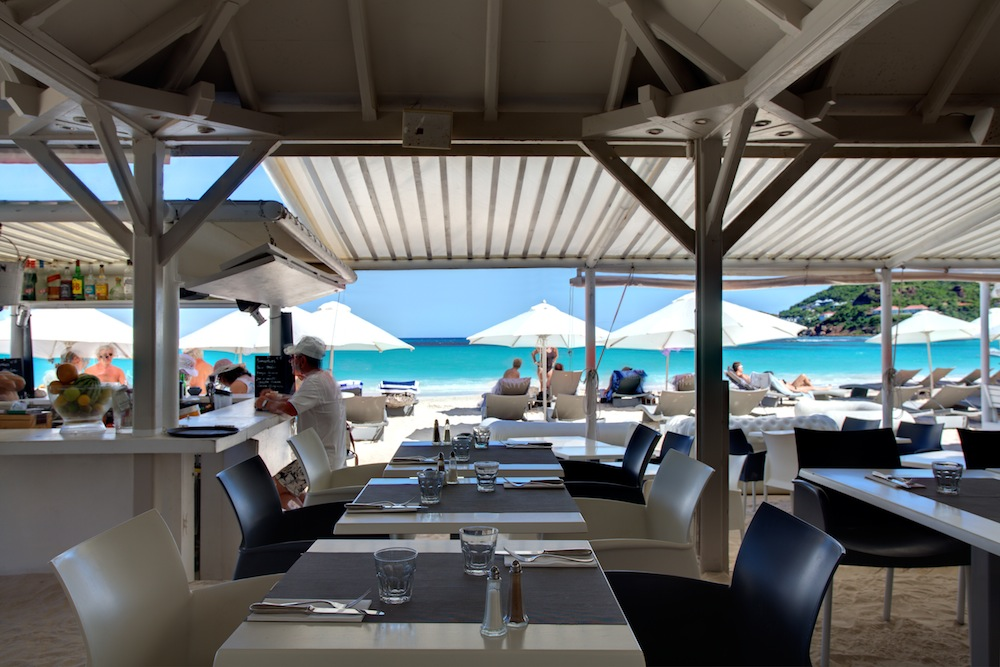 Best Island Beaches For Partying Mykonos St Barts: Tom St Barth Plage