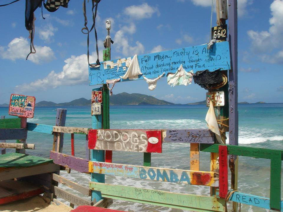 Bomba Shack Beach Bar - Tortola