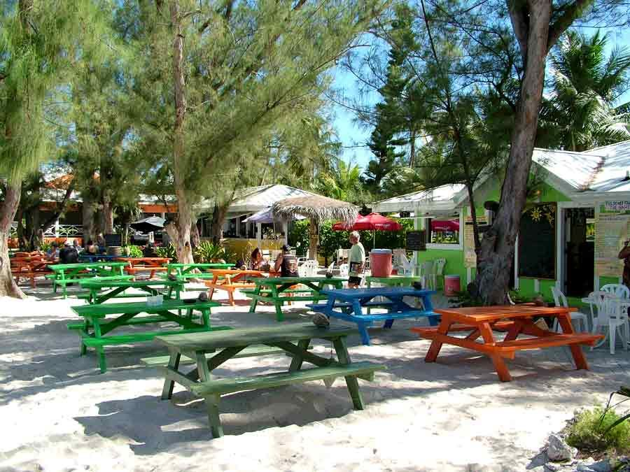 The Wreck Bar at Rum Point - Grand Cayman
