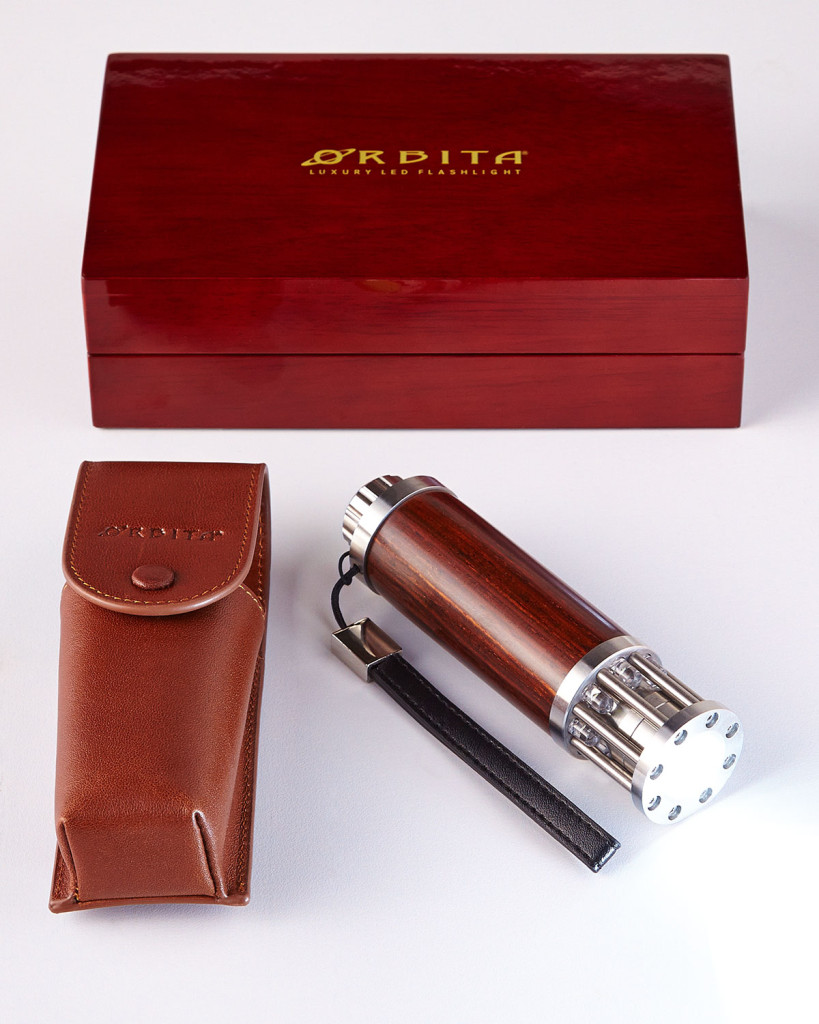 Cocobolo Luxury Flashlight