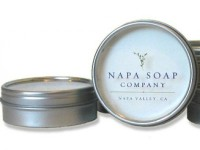 Napa Soap Company Travel Size Shaving Soap with Brush