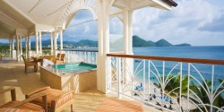 3 Bedroom Grand Ocean View Suite At The Landing Resort - St. Lucia