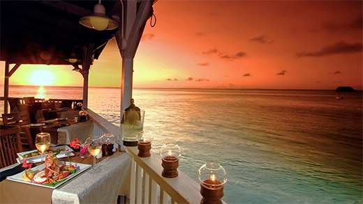 The Sunset Café - St. Martin