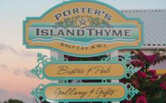 Porter's Island Thyme Restaurant - Salt Cay, Turks & Caicos