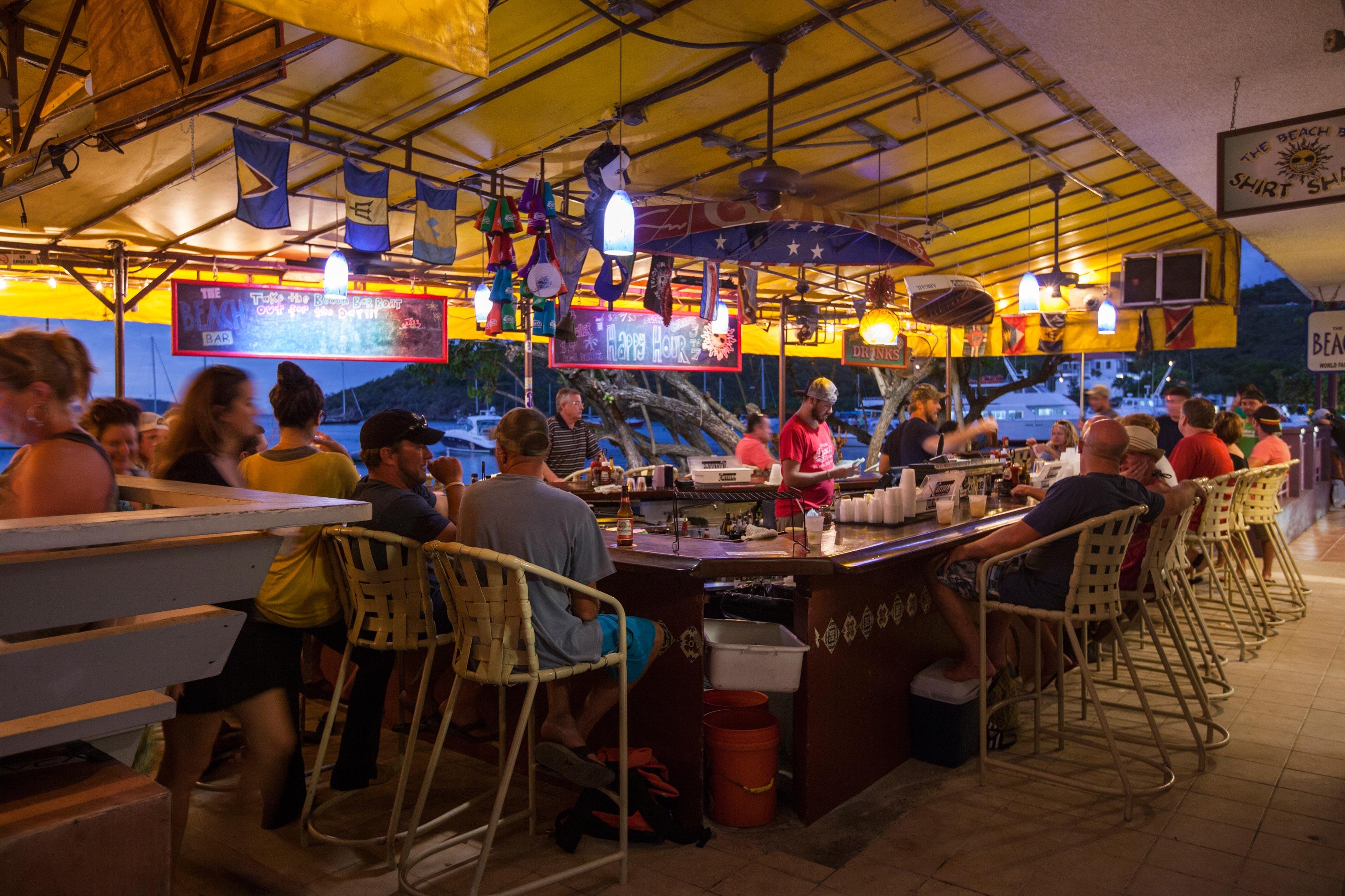 The Beach Bar St John